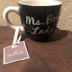 "Hallmark ""Ms. Boss Lady"" Ceramic Coffee Tea Cup"